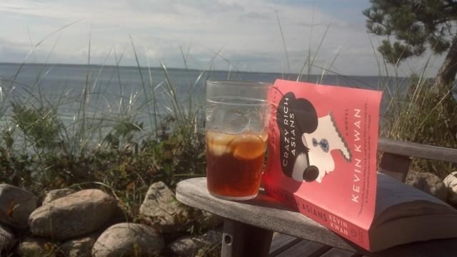 On the bluff overlooking Lambert's Cove, Martha's Vineyard